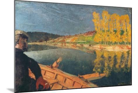 The Ferryman-Edouard Vuillard-Mounted Giclee Print
