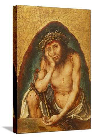 Christ, Man of Sorrows, C. 1493-Albrecht D?rer-Stretched Canvas Print