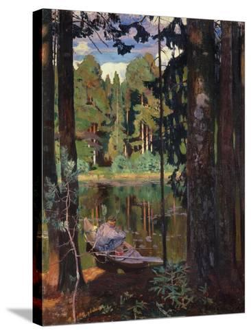 Silence, 1908-Arkadi Rylow-Stretched Canvas Print