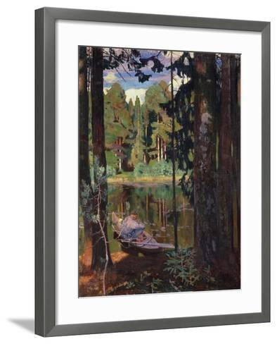 Silence, 1908-Arkadi Rylow-Framed Art Print