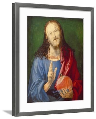 Christo Salvator Mundi (Unfinished), C. 1501-04-Albrecht D?rer-Framed Art Print