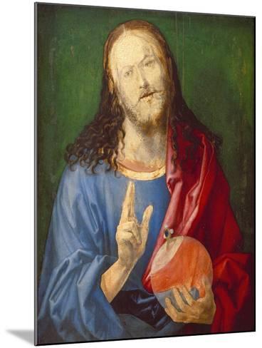 Christo Salvator Mundi (Unfinished), C. 1501-04-Albrecht D?rer-Mounted Giclee Print