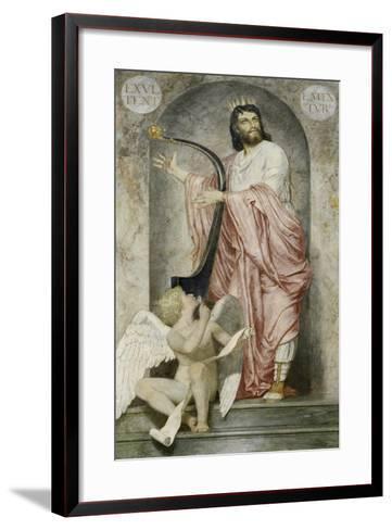 King David, 1868-Arnold B?cklin-Framed Art Print
