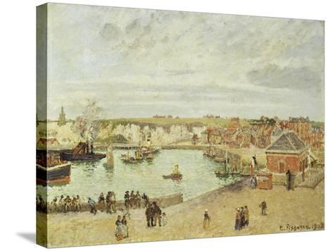 The Harbour at Dieppe, 1902-Camille Pissarro-Stretched Canvas Print
