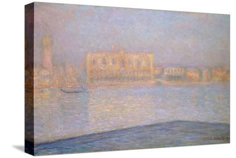 The Ducal Palace from San Giorgio, 1908-Claude Monet-Stretched Canvas Print