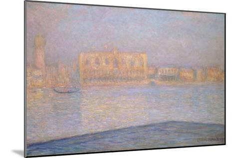 The Ducal Palace from San Giorgio, 1908-Claude Monet-Mounted Giclee Print