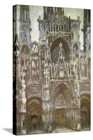 Rouen Cathedral (Harmony in Brown), 1892-Claude Monet-Stretched Canvas Print