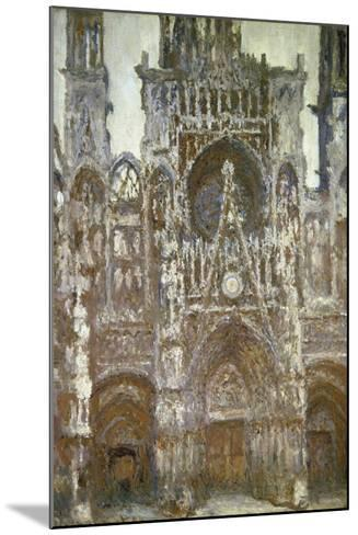 Rouen Cathedral (Harmony in Brown), 1892-Claude Monet-Mounted Giclee Print
