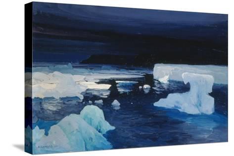 Polar Ice, 1904-Alexander Borisov-Stretched Canvas Print
