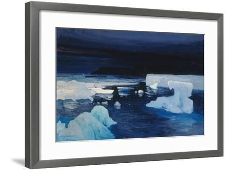 Polar Ice, 1904-Alexander Borisov-Framed Art Print