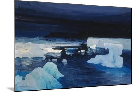Polar Ice, 1904-Alexander Borisov-Mounted Giclee Print