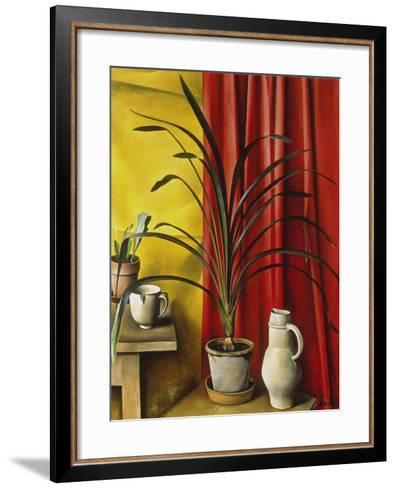 Stillleben-Alexander Kanoldt-Framed Art Print