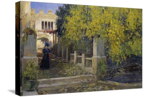 Moralt in Autumn-Alexander Koester-Stretched Canvas Print