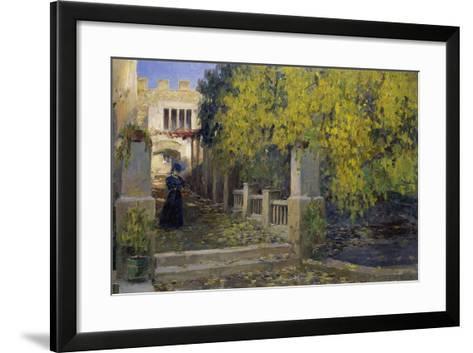 Moralt in Autumn-Alexander Koester-Framed Art Print