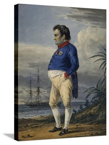 Napoleon on the Island of Saint Helena, Ca, 1820-Alexander Orlowski-Stretched Canvas Print