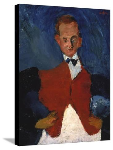The Waiter, (Le Garcon D'?tage), Between 1922 and 1928-Chaim Soutine-Stretched Canvas Print
