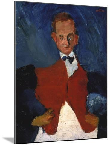 The Waiter, (Le Garcon D'?tage), Between 1922 and 1928-Chaim Soutine-Mounted Giclee Print