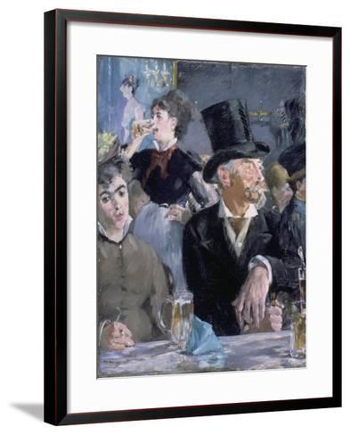 Le Café - Le Concert, 1878-Edouard Manet-Framed Art Print