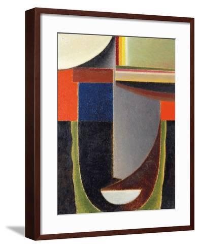 Abstract Head: Andante (Abstrakter Kopf: Andante), 1933-Alexej Von Jawlensky-Framed Art Print