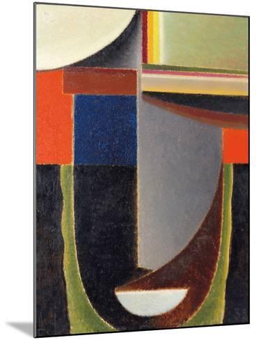 Abstract Head: Andante (Abstrakter Kopf: Andante), 1933-Alexej Von Jawlensky-Mounted Giclee Print