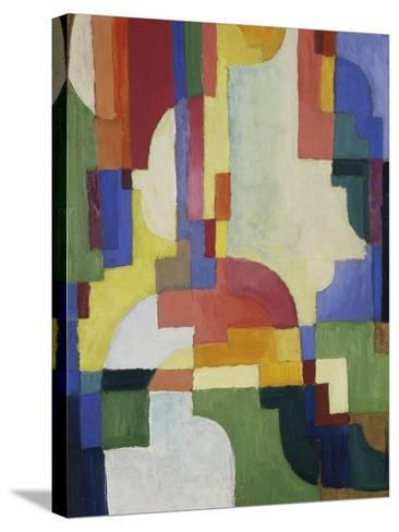 Colourful Forms I, 1913-August Macke-Stretched Canvas Print