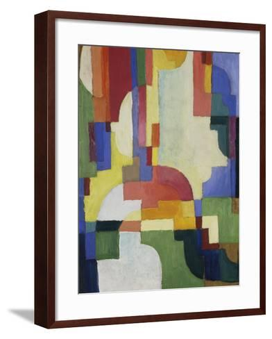 Colourful Forms I, 1913-August Macke-Framed Art Print