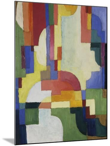 Colourful Forms I, 1913-August Macke-Mounted Giclee Print