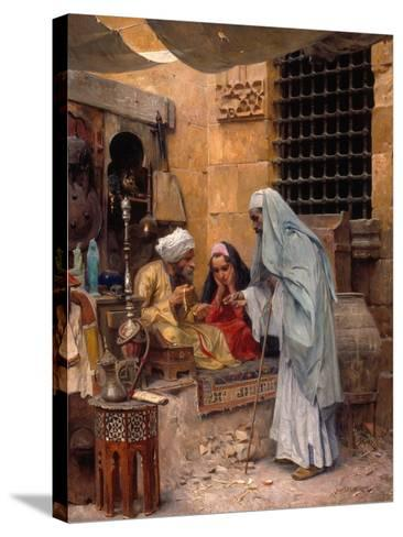 In the Bazaar, 1901-Charles Wilda-Stretched Canvas Print