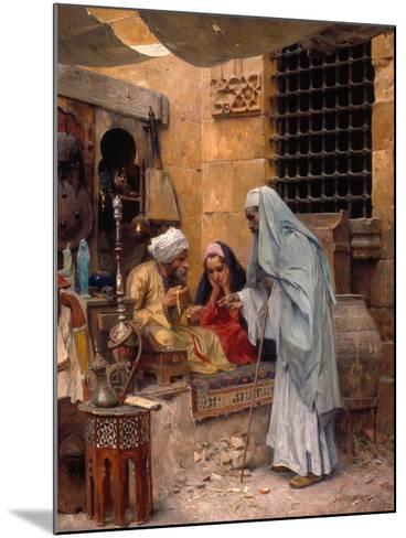 In the Bazaar, 1901-Charles Wilda-Mounted Giclee Print
