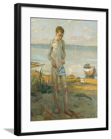 Evening at the Ammersee, 1911-Christian Landenberger-Framed Art Print