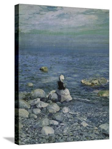 On the Shore of the Black Sea, 1890's-Alexejew Konstantin Korovin-Stretched Canvas Print