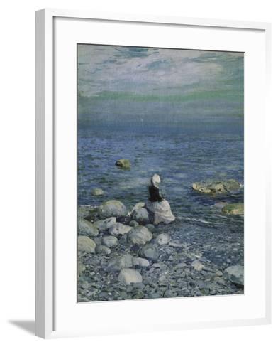 On the Shore of the Black Sea, 1890's-Alexejew Konstantin Korovin-Framed Art Print