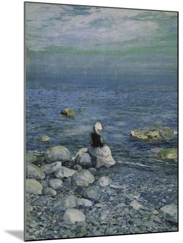 On the Shore of the Black Sea, 1890's-Alexejew Konstantin Korovin-Mounted Giclee Print
