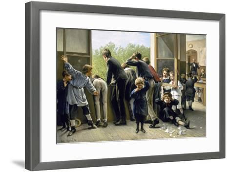 The Class Pranksters-Auguste Joseph Truphème-Framed Art Print