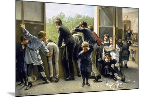 The Class Pranksters-Auguste Joseph Truphème-Mounted Giclee Print