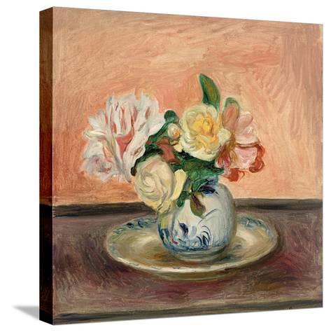 Vase of Flowers, 1901-Pierre-Auguste Renoir-Stretched Canvas Print