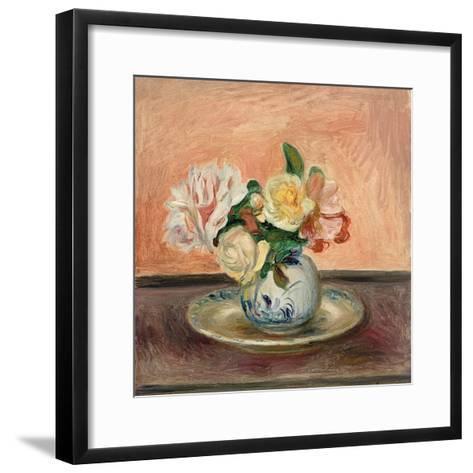 Vase of Flowers, 1901-Pierre-Auguste Renoir-Framed Art Print