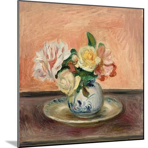 Vase of Flowers, 1901-Pierre-Auguste Renoir-Mounted Giclee Print