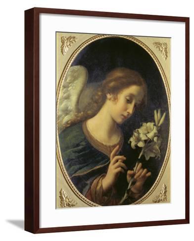 Angel of the Annunciation-Carlo Dolci-Framed Art Print
