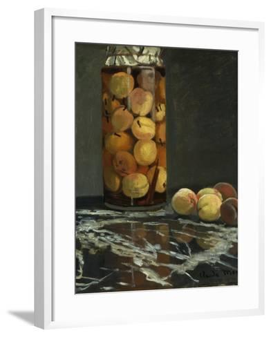 The Peach Glass, 1866-Claude Monet-Framed Art Print