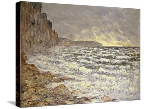 Seafront, Fécamp, 1881-Claude Monet-Stretched Canvas Print
