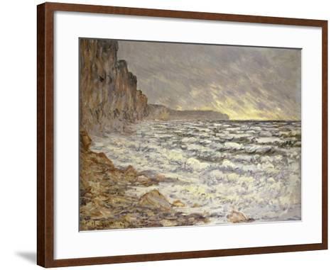 Seafront, Fécamp, 1881-Claude Monet-Framed Art Print