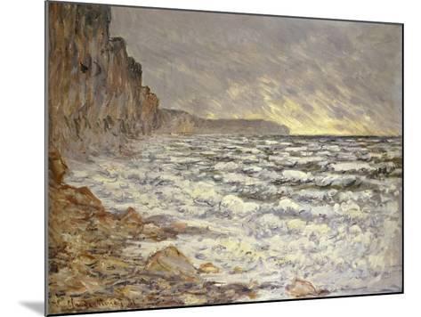 Seafront, Fécamp, 1881-Claude Monet-Mounted Giclee Print