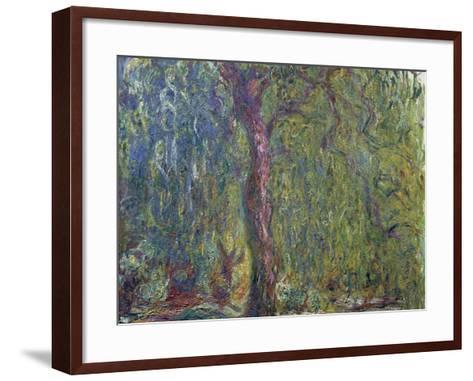 Weeping Willow, C. 1919-Claude Monet-Framed Art Print