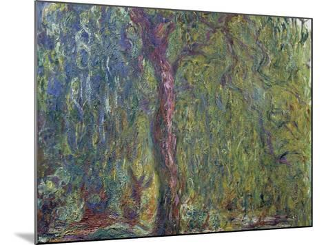 Weeping Willow, C. 1919-Claude Monet-Mounted Giclee Print