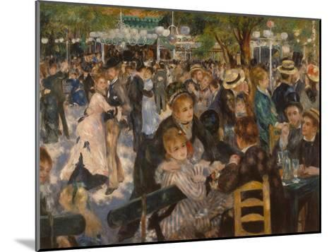 Ball at the Moulin De La Galette, 1876-Pierre-Auguste Renoir-Mounted Giclee Print