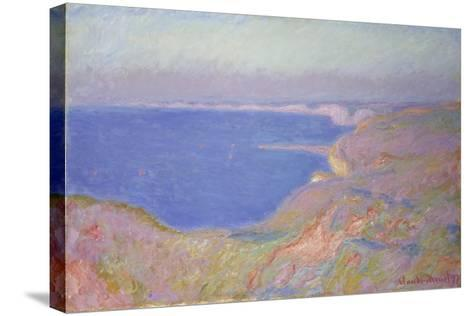 Setting Sun at Dieppe, 1897-Claude Monet-Stretched Canvas Print