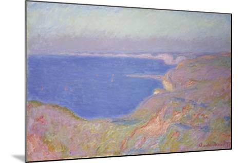 Setting Sun at Dieppe, 1897-Claude Monet-Mounted Giclee Print