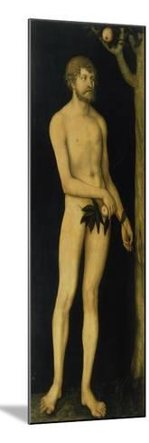 Adam, 1531-Lucas Cranach the Elder-Mounted Giclee Print