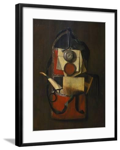 Still Life with Wall Pouch-G Seemanns-Framed Art Print